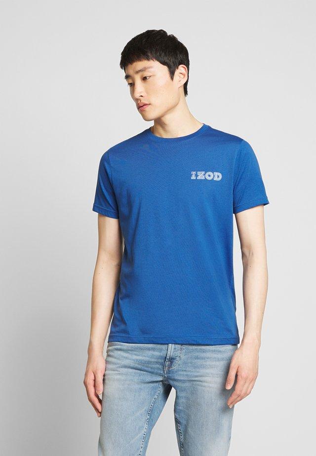 LOGO TEE - T-shirt imprimé - true blue