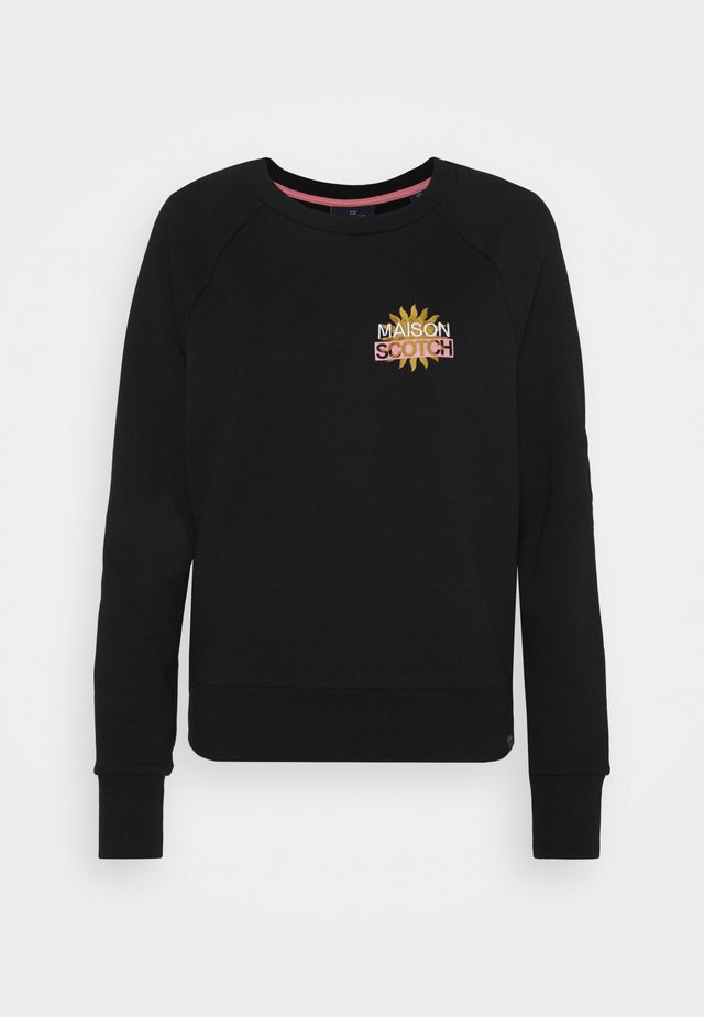 WITH VARIOUS ARTWORKS - Sweatshirt - black