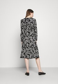 Alexa Chung - LONG SLEEVE DRESS - Freizeitkleid - black/off white - 2