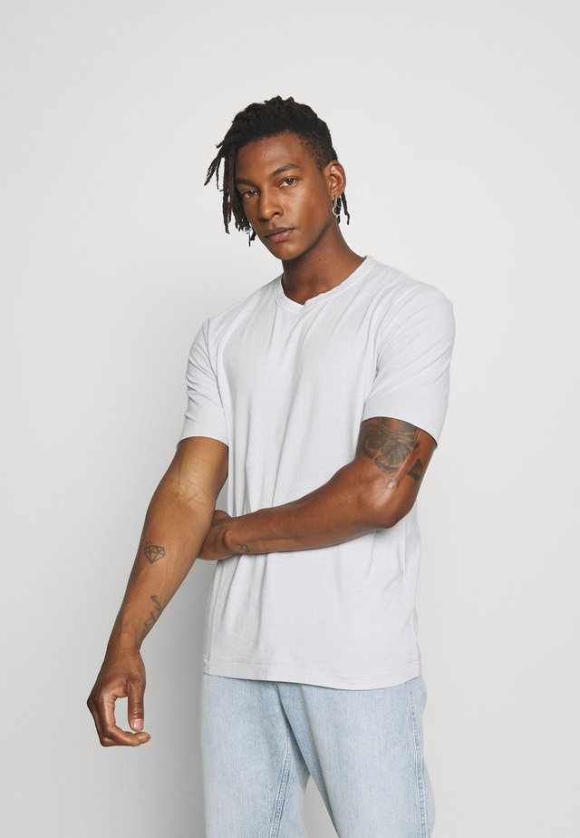 RANIEL - Basic T-shirt - light grey