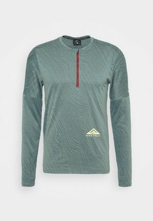 TRAIL - Sports shirt - dark teal green