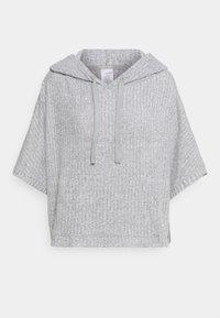 Calvin Klein Underwear - COZY LOUNGE HOODIE - Pyjama top - grey heather - 0