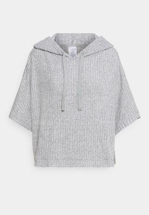 COZY LOUNGE HOODIE - Pyjama top - grey heather