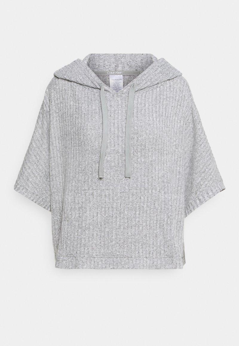 Calvin Klein Underwear - COZY LOUNGE HOODIE - Pyjama top - grey heather