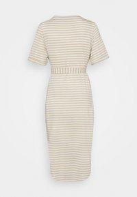 Vero Moda Petite - VMALONA CALF DRESS  - Maxi dress - white - 1