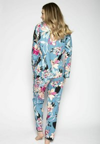 Cyberjammies - Pyjamahousut/-shortsit - turq floral - 3