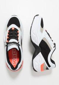 Kappa - KRYPTON - Sports shoes - white/black - 1