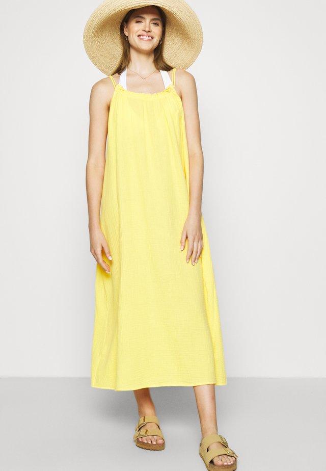 ART HOUSE SOLEIL DOUBLE CLOTH DRESS - Accessorio da spiaggia - daffodil