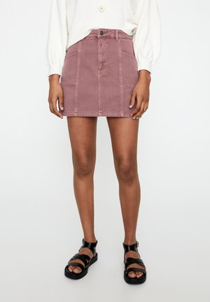 Denimová sukně - rose