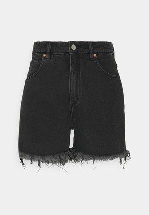 A VENICE SHORT - Jeans Shorts - charo black