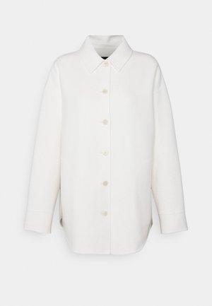 SHIRT LUXE - Short coat - ivory