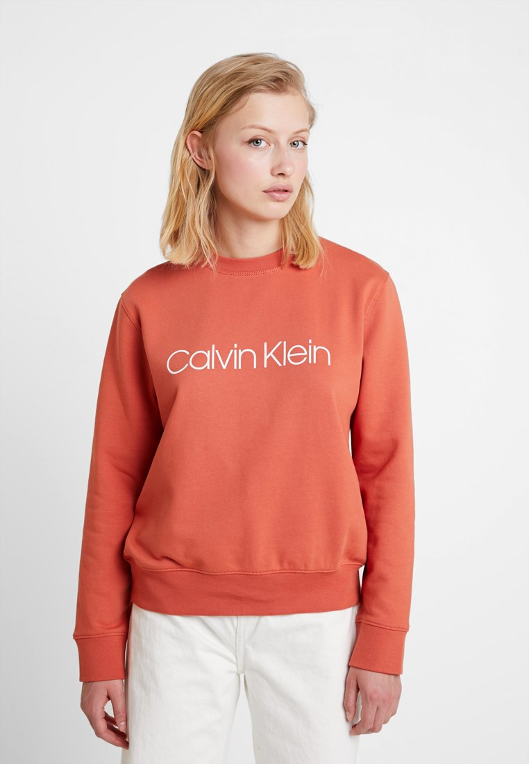 Calvin Klein - CORE LOGO - Sweatshirt - brown