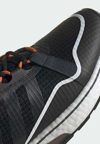 adidas Originals - ZX 2K BOOST PURE - Zapatillas - core black grey six orange - 6