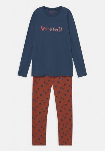 ORGANIC COTTON TEEN LANG - Pyjama - blau
