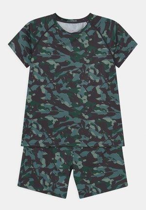 CAMO PRINT SET UNISEX - T-shirt print - dark green