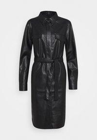 Opus - WELONI - Robe chemise - black - 5