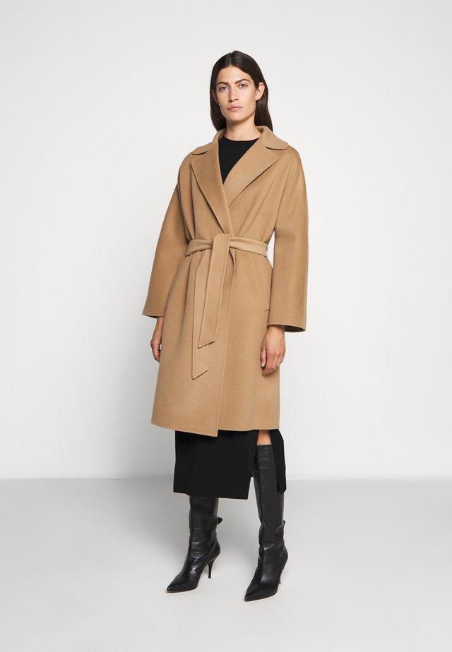 Wollmantel/klassischer Mantel - kamel