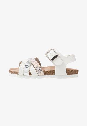 PARODIE - Sandals - blance/multicolor