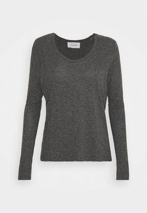 JACKSONVILLE ROUND NECK LONG SLEEVE - Topper langermet - anthracite chine