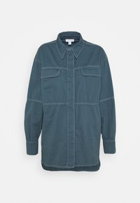 CASUAL STITCH - Button-down blouse - navy