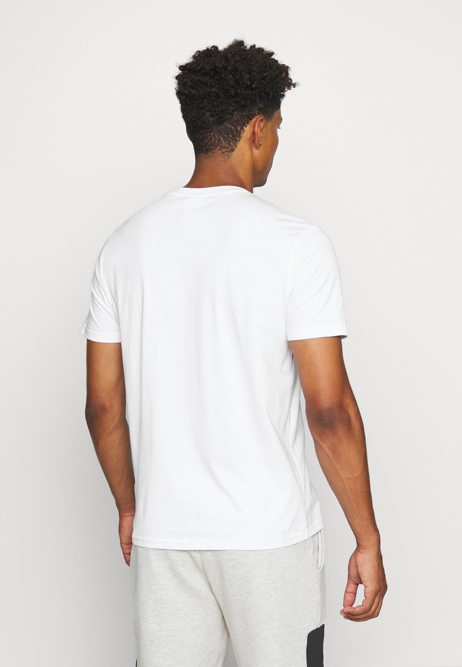 Abbigliamento da uomo Diadora KALEIDOS T-shirt con stampa optical white