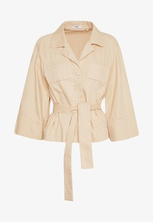 Summer jacket - pale almond