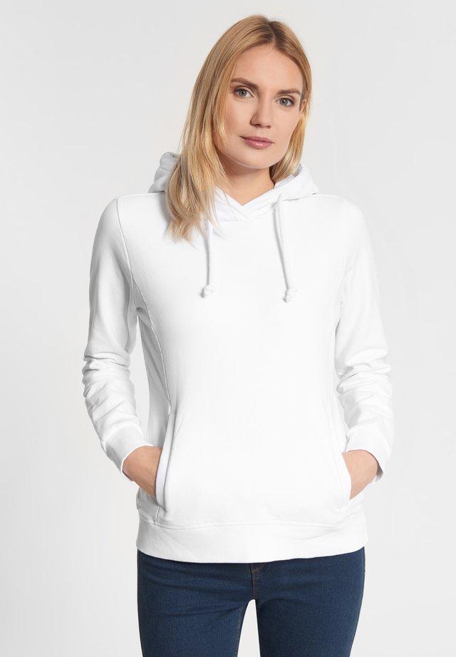 LEONIE - Hoodie - white