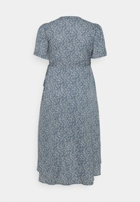 Missguided Plus - HIGH LOW DRESS - Maxi dress - blue - 1