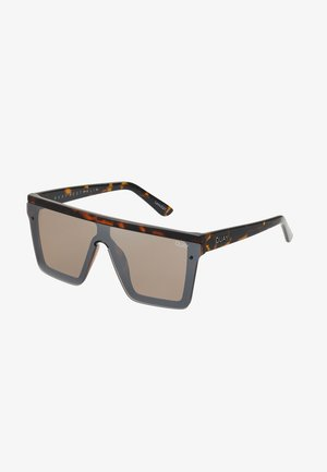 HINDSIGHT - Sunglasses - mottled brown/brown