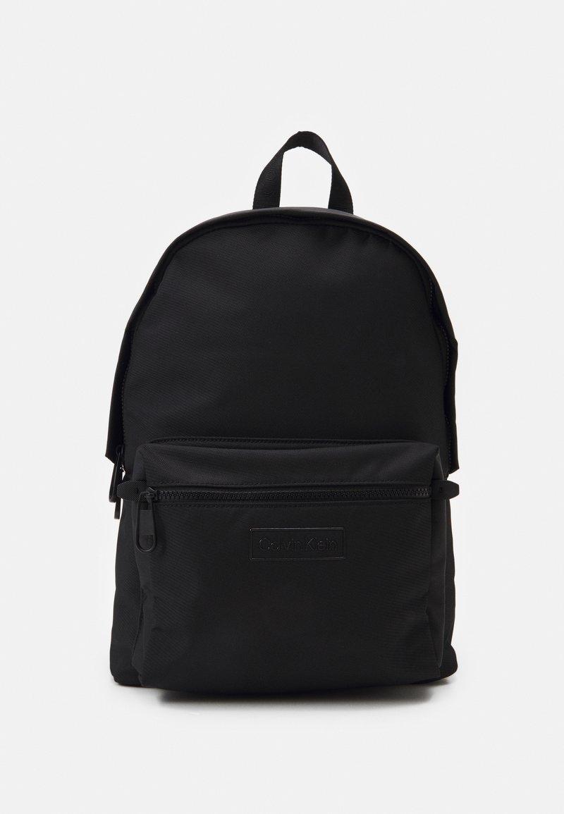Calvin Klein - CODE CAMPUS UNISEX - Rucksack - black