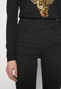 New Look - LIFT AND SHAPE HIGHWAIST - Jeans Skinny Fit - black - 5