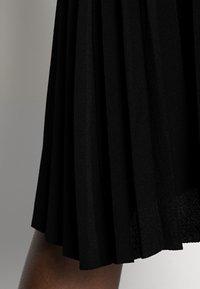 Anna Field - Plisse A-line mini skirt - Jupe trapèze - black - 4