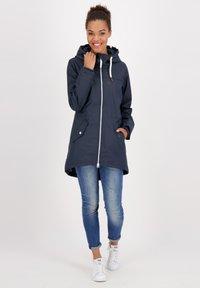 alife & kickin - Waterproof jacket - marine - 1