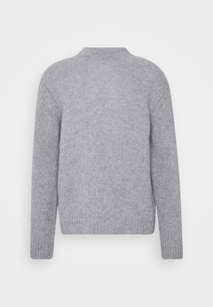 MIX TATE TURTLENECK  - Pullover - warm grey