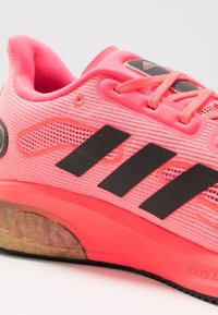 adidas Performance - SUPERNOVA - Neutral running shoes - signal pink/core black/copper metallic - 5