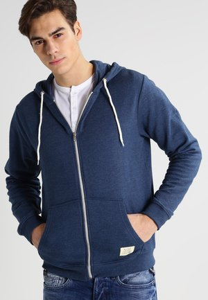 REGULAR FIT - Mikina na zip - ensign blue