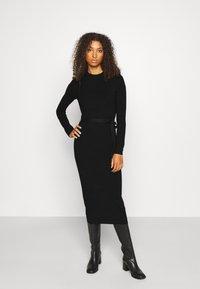 ONLY - ONLDAWN DRESS - Jumper dress - black - 0