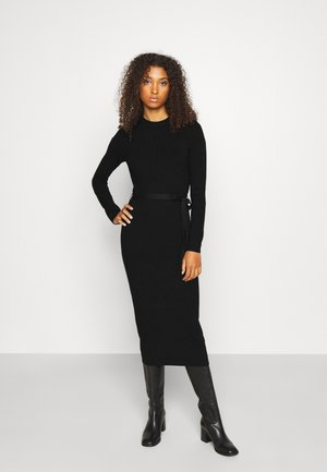 ONLDAWN DRESS - Strikket kjole - black