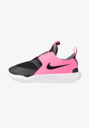 FLEX RUNNER - Obuwie do biegania treningowe - black/pink glow/smoke grey