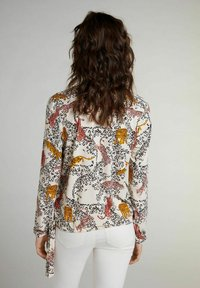 Oui - Blouse - offwhite red - 2