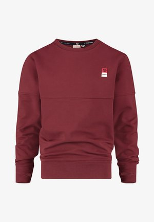 Sweatshirt - grape red