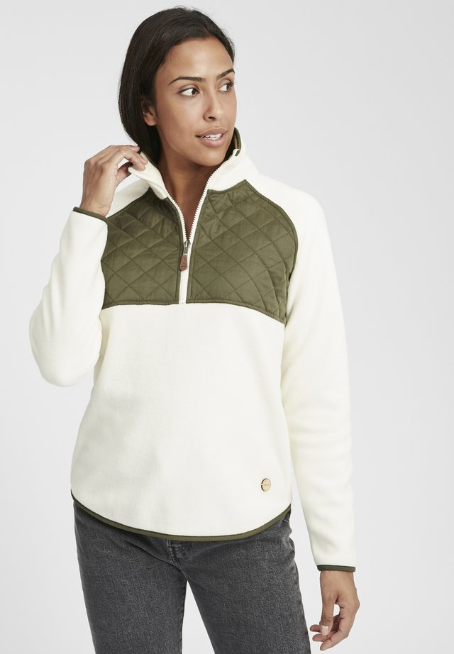 MALITA - Fleece jacket - off white