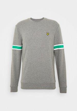 SLEEVE RIB INSERT  - Sweatshirt - grey