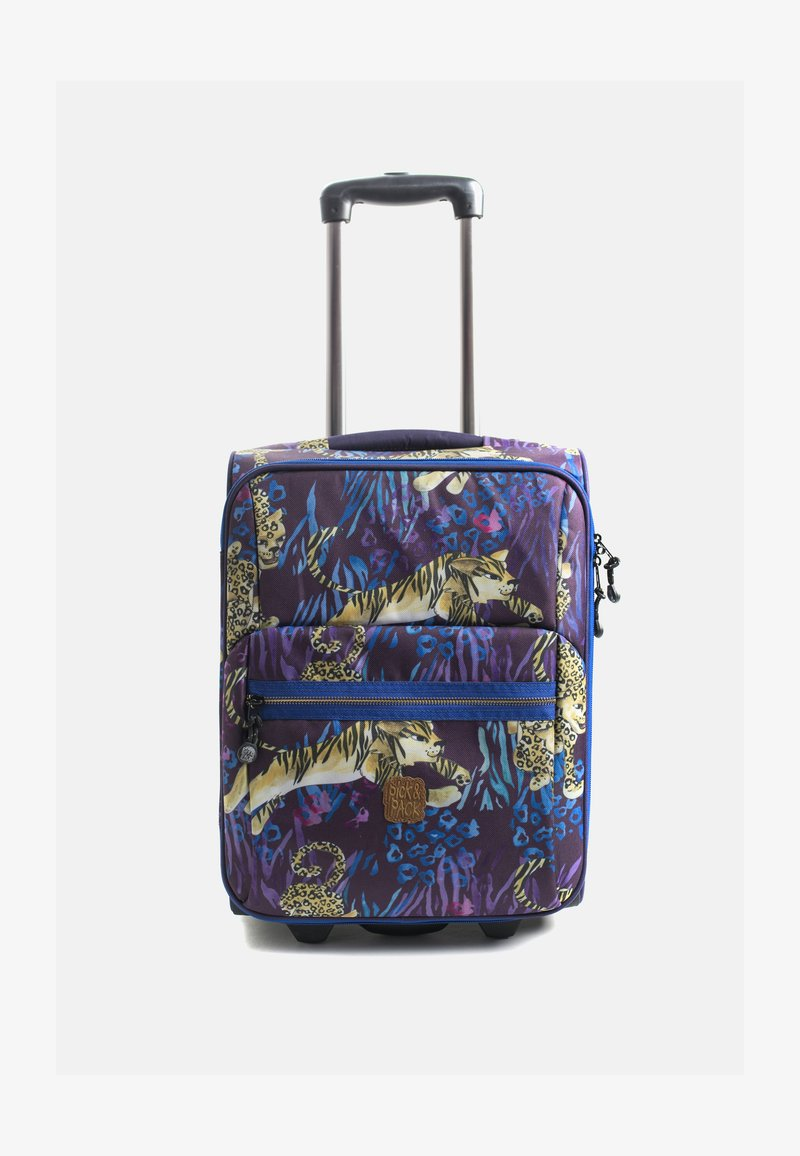 pick & PACK - WILD CATS - Luggage - lila