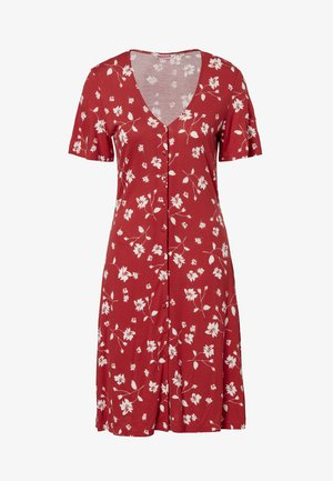 VIRGINIA - Day dress - red