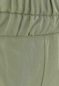 Bershka - Chino kalhoty - khaki - 5