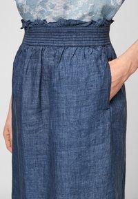 s.Oliver - A-line skirt - faded blue melange - 4