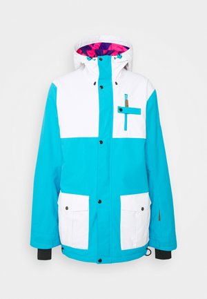 YEH MAN JACKET  - Ski jacket - blue/white