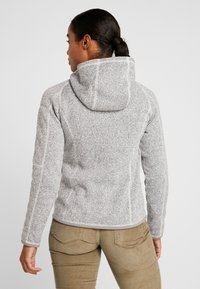 Patagonia - BETTER SWEATER HOODY - Fleece jacket - birch white - 2