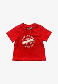 Kanz - Print T-shirt - dark red - 0